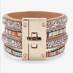 Cuff lock bracelet